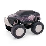 Carrinho Roda Livre - Monster Car - Avengers - Pantera Negra - Marvel - Toyng