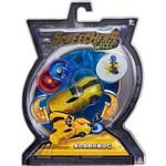 Carrinho Screechers Wild Sparkbug Lança Discos - DTC