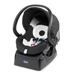 Carrinho Urban Plus Azul + Bebê Conforto Fix Fast Chicco