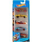 Carrinhos Hot Wheels Pacote 5 Carros Ferrari 5 - Mattel