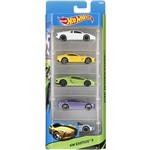 Carrinhos Hot Wheels Pacote 5 Carros HW Exotics 5 - Mattel