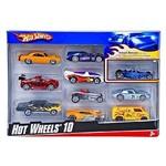 Carrinhos Hot Wheels - Pacote com 10 Carros