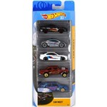 Carrinhos Hot Wheels - Pacote com 5 Carros - Mattel - Car Meet
