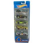 Carrinhos Hot Wheels - Pacote com 5 Carros - Mattel - Track Stars