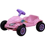 Carro a Pedal Homeplay Speedplay Rosa
