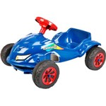 Carro a Pedal Speed Play Azul Sim Homeplay
