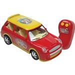 Carro Algazarra Patati Patata com Rádio Controle 3 Funções Vermelho - Candide
