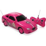 Carro Barbie Fashion com Controle Remoto 3 Funções - Candide
