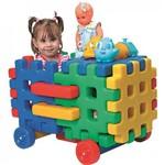 Carro Baú Monte Play Alpha Brinquedos Colorido