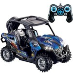 Carro Carrinho Controle Remoto Rally Discovery Recarregável