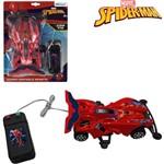 Carro com Controle Remoto com Fio Homem Aranha Spider Man a Pilha