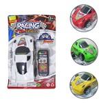 Carro com Controle Remoto com Fio Racing Team Colors a Pilha na Cartela