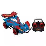 Carro com Controle Remoto Homem Aranha Web Racer 7 Funções - Candide