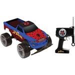 Carro com Controle Remoto Spider-Man Tracker Truck Candide
