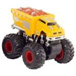 Carro com Friccao Detonador Big Foot Amarelo 3534 Dtc