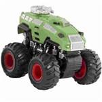 Carro com Friccao Detonador Big Foot Verde 3534 Dtc