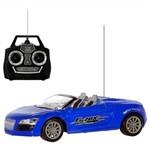 Carro Conversivel com Controle Remoto 27 Mhz Art Brink Azul