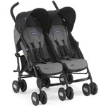 Carro de Bebê Passeio Gêmeos Chicco Echo Twin 2 Posições Até 15kg
