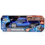 Carro de Controle Remoto Battle Machines 7 Funcoes - Silverado Azul Candide