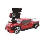 Carro de Controle Remoto Battle Machines 7 Funcoes - Silverado Vermelha Candide