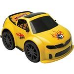 Carro de Fricção Candide Faster Hot Wheels Amarelo
