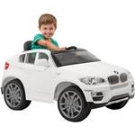 Carro Elétrico Infantil BMW X6 Branca R/C 6V - Bandeirante