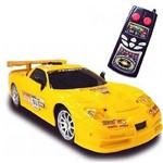 Carro Gt Velocidade 01 Amarelo - Dtc