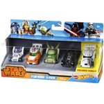 Carro Hot Wheels - Kit 5 In 1 - Star Wars
