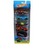 Carro Hot Wheels - Kit 5in1 Dino Riders