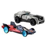 Carro Hot Wheels - Kit 2in1 Armored Bataman + Man Of Steel Djp09