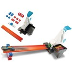 Carro Hot Wheels - Kit Track Builder Lancador Rapido