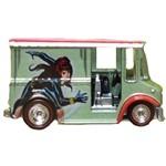 Carro Hot Wheels - Marvel Black Widow Bread Box Dlb45