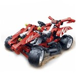 Carro Infantil Buggy Hi-Tech 250 Peças Vermelho 6955 - Banbao