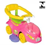 Carro Passeio para Bebê Calesita Flower Car - C/ Alça 0929