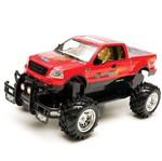 Carro Pickup Ranger 4x4 C/ Rádio Controle 7 Funções Vermelho - Candide