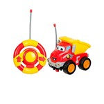 Carro Radio Controle Chuck And Friends Rollin Racer - Edimagic