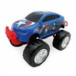Carro Roda Livre 20cm Capitão América