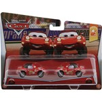 "Carros Pack com 2 ""Superfan"" Mia e Tia - Mattel"
