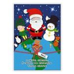 Cartão Artesanal Paz no Mundo