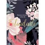 Cartão By Grafon´s Casamento Estampa Felicidade Florido