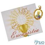 Cartão com Medalha de 1ª Eucaristia | SJO Artigos Religiosos