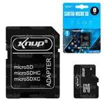 Cartão de Memória 8gb Knup - Kp-m08
