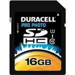 Cartão de Memória Duracell Class 10 16GB