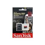 Cartão de Memória MicroSD Card 32GB Extreme Pro Sandisk 4K Ultra HD e Full HD   SDSDQXP-032G-G46A