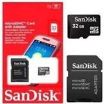 Cartão de Memória MicroSD Card 32GB Sandisk SDHC Classe 4
