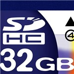 Cartão de Mémoria SD 32GBHC Class 4 - Dane Elec