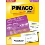Cartão de Visita 10 Folhas (100 Cartões) - 7088 - Pimaco 132316