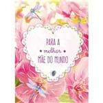 Cartão Handmade Beauty Mães Estampa Coração Melhor Mãe - Grafon's