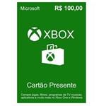 Cartao Microsoft Xbox Live R 100 K4w-03106
