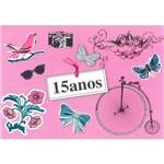 Cartão Mix Fina Ideia 15 Anos Bicicleta